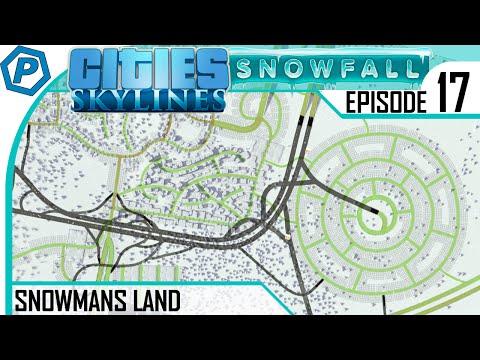 Cities: Skylines Snowfall | Snowmans Land | #17 | Wheel of commerce