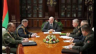 Президент Беларуси провёл ряд кадровых назначений в силовых структурах. Панорама