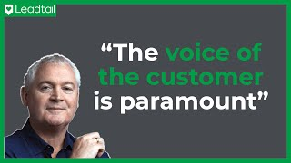 Listen to the voice of your customer: Kieran Hannon