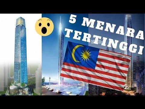 5 Menara Tertinggi di Malaysia Dalam Pembinaan