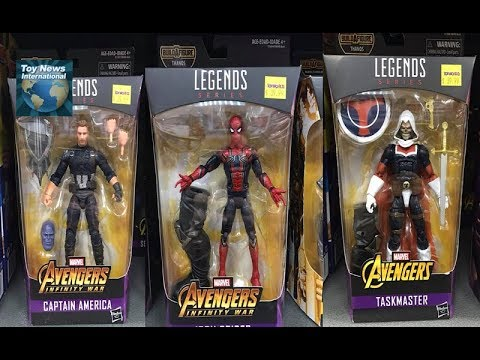 "Marvel Legends Avengers Infinity's War Thanos BAF series Taskmaster 6/"" FIGURE"