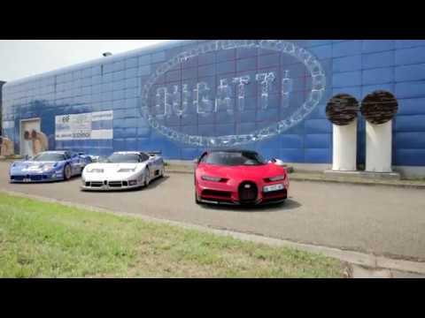 Bugatti - EB110, Chiron, Centodieci...