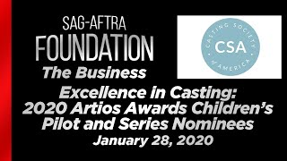The Business: Excellence In Casting - 2020 Artios Awards Children's Pilot and Series Nominees
