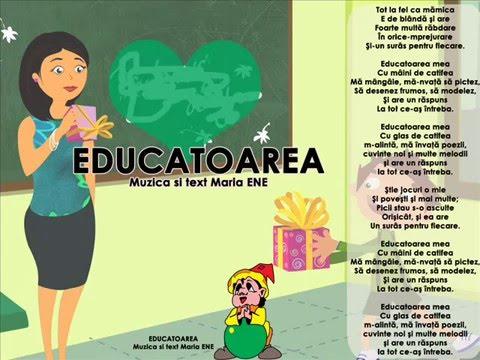 EDUCATOAREA – Cantece pentru copii in limba romana