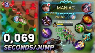WANWAN ALL ATTACK SPEED ITEMS BUILD Gameplay! Non-Stop Jumping?