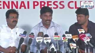 lingaa Loss Distributors Press Meet   Tamil The Hindu