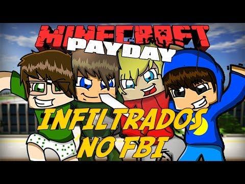 Minecraft: SOMOS LADRÕES?! - Infiltrados no FBI! #2