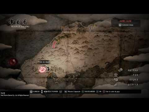 NIoh OST : Chugoku World Map Extended