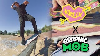 Mob x Krux Trucks  MOB Grip and Krux Trucks have teamed up to create some visual grit to stoke you out on your board! Caswell Berry, Zack Wallin, and Ron Whaley give you a taste of what the new Graphic MOB from The Grippiest in the game is all about! Filmed by @joeperrin @zackwallin @caswellberry @whalebonetown  http://www.mobgrip.com/  @mobgrip  #MobbinDeep #MOBGrip #TheGrippiest #TheyTurnandStuff #KruxTrucks #GraphicMOB