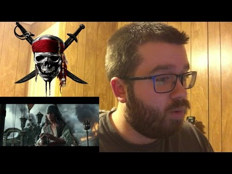 Pirates of the Caribbean: Dead Men Tell No Tales Official Trailer Reaction!