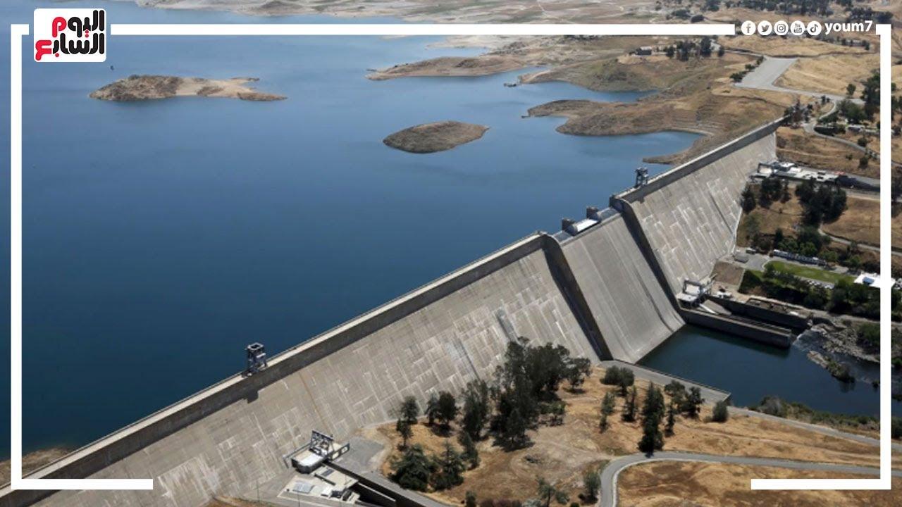 وزير الرى الأقمار الصناعية أكدت وجود هبوط بسد إثيوبيا ومخاطر متوقعة