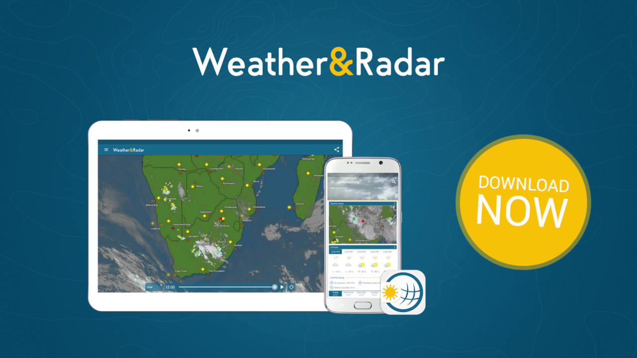 Weather & Radar   The Best App For The Weather In South Africa