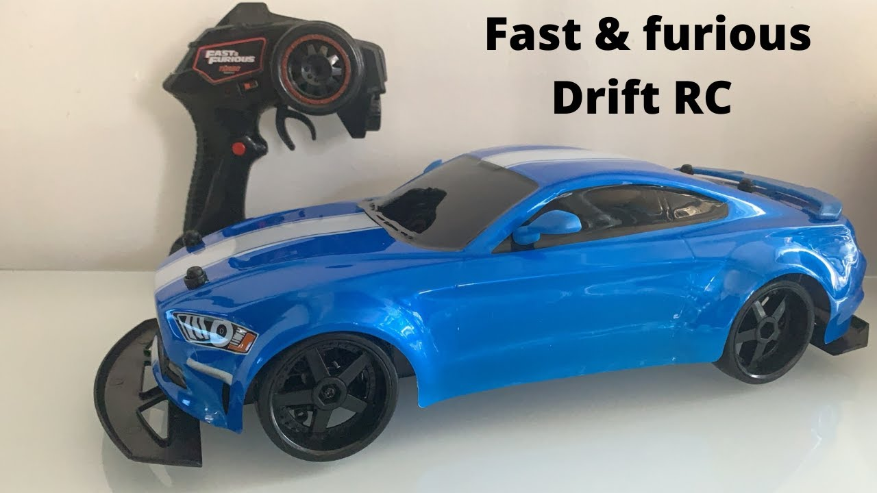 DRIFTING THE FAST AND FURIOUS JAKOBS 2018 MUSTANG (RC CAR)