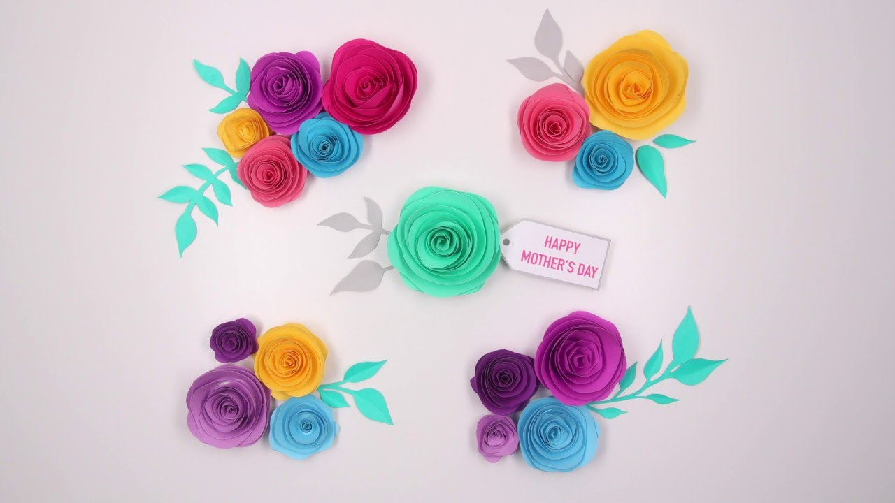 11 diy paper flower tutorials dear handmade life.