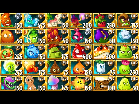 All Premium Plants in Plants vs Zombies 2: Power-Up!