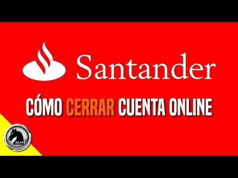 CANCELAR Cuenta Banco Santander ❎ [Cómo Cerrar mi cuenta de Banco Santander Río Online]