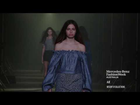 AJE MERCEDES-BENZ FASHION WEEK AUSTRALIA RESORT 17 COLLECTIONS