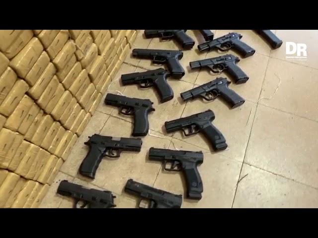 Polícia Civil apreende armas e toneladas de drogas em Juiz de Fora