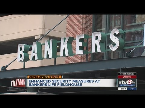 Security enhanced at Bankers Life Fieldhouse ahead of Pacers game