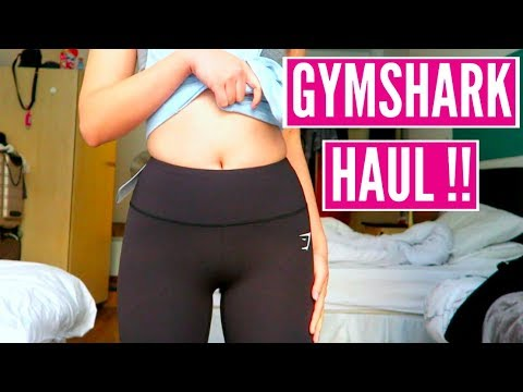 f861981544a79 GYMSHARK TRY ON HAUL + FIRST IMPRESSION // helloimrei - YouTube