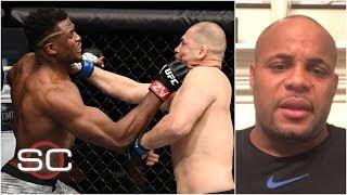Daniel Cormier reacts to Francis Ngannou's KO of Cain Velasquez   SportsCenter