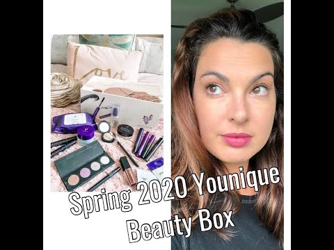Younique Spring 2020 Beauty Box