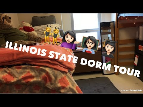DORM TOUR - ILLINOIS STATE HOUSING | MELISSAROSSSE