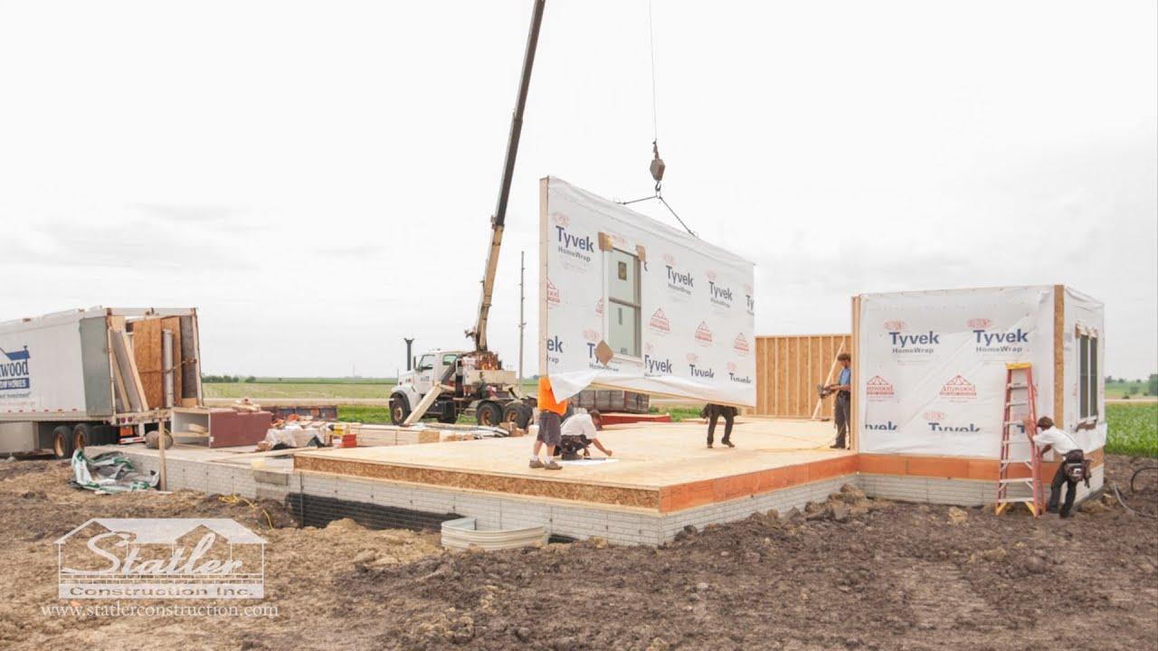 Statler Construction - Panelized Construction - YouTube