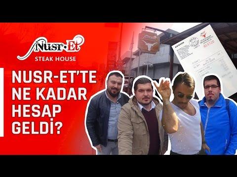 Nusret te hesap ne kadar geldi? - İstanbul'da Bir Gün, Nusr-et & ÇiğKöfteci Ali