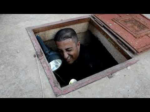 ثعبان داخل بئر ماء للشرب يتسبب بوقف العمل فيه مع جمال العمواسي
