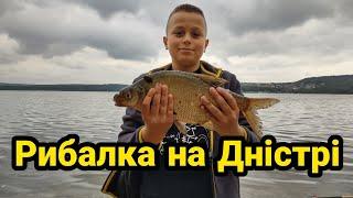 Рибалка на річці Дністер біля села Ломачинці
