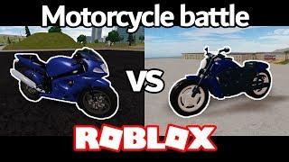 Suzuki vs Harley-Davidson | Motorcycle Battle (Roblox Vehicle Simulator)