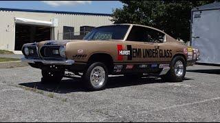 1969 Plymouth Barracuda Hemi Under Glass & Engine Sound & Wheelie My Car Story with Lou Costabile
