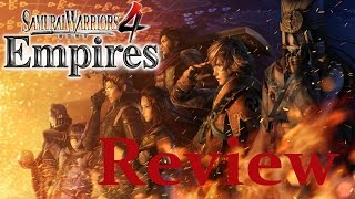Samurai Warriors 4: Empires | Playstation 4 Review {English, Full 1080p HD}