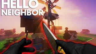 Realistic Minecraft: Hello Neighbor - Neighbor KILLS COP?!?!