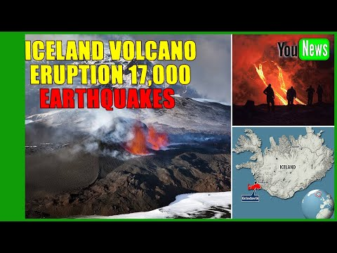 Iceland volcano eruption: Red alert after 17,000 earthquakes recorded in one week