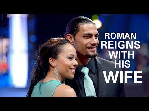 Roman Reigns with his Wife