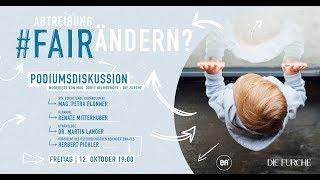 "Podiumsdiskussion ""Abtreibung #fairändern?"