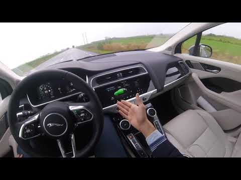 2019 Jaguar I Pace First Edition  - POV Review 400 HP Electric SUV