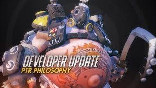 Developer Update | PTR Philosophy | Overwatch