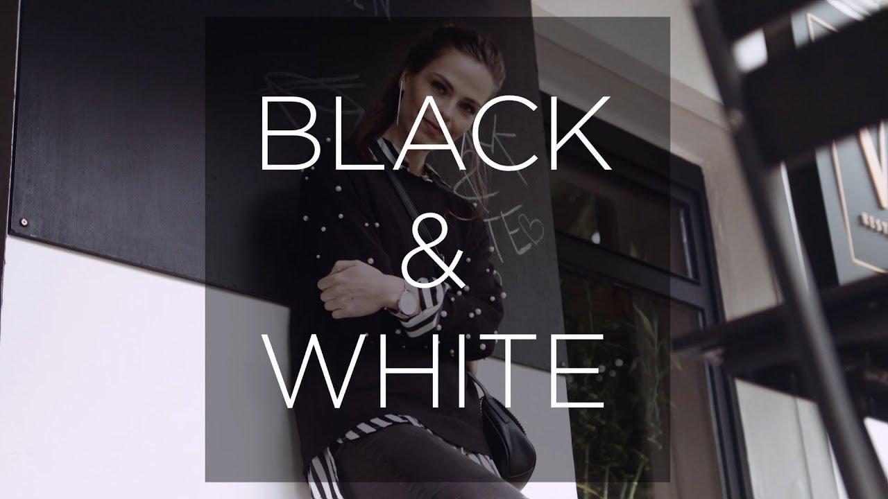Modischer Kontrast In Schwarz Und Weiß Youtube