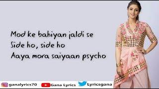 (LYRICS): Psycho Saiyaan | Saaho | Dhvani Bhanushali | Sachet Tandon | Prabhas, Shraddha Kapoor