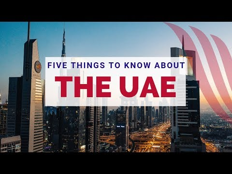 Five Things to Know About Living in The UAE