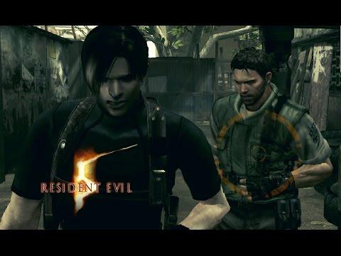 Resident Evil 5 Pc Mod Evolution Leon E Chris Youtube