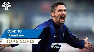 PARMA vs INTER | TOP 5 GOALS | Baggio, Ibrahimovic, Ventola and more...!