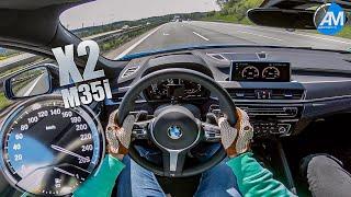 BMW X2 M35i (306hp) - 0-260 km/h acceleration🏁