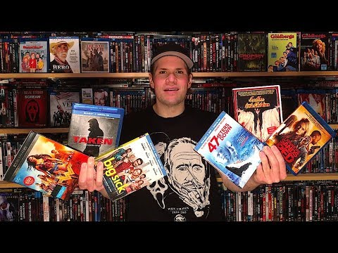 My Blu-ray Collection Update 9/15/17 : Blu ray and Dvd Movie Reviews