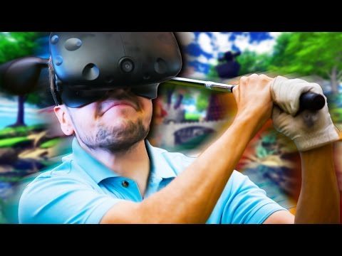 GO IN THE HOLE! | Cloudlands VR Minigolf (HTC Vive Virtual Reality)