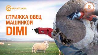 Машинка для стрижки овец. Как она Стрижет! Шестеренки сталь! Светлыйдом58.рф