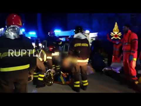 Italy: At least six killed, 100 injured in nightclub panic